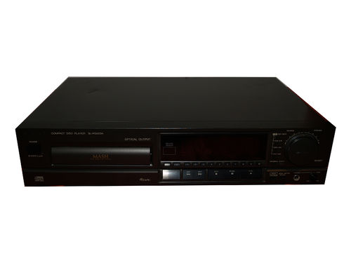 Technics MASH Compact DISC Player SL PG 500 A